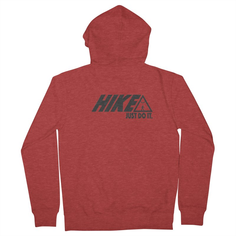 HIKE. JUST DO IT. Men's Zip-Up Hoody by CYCLOPS PIRATE Artist Shop