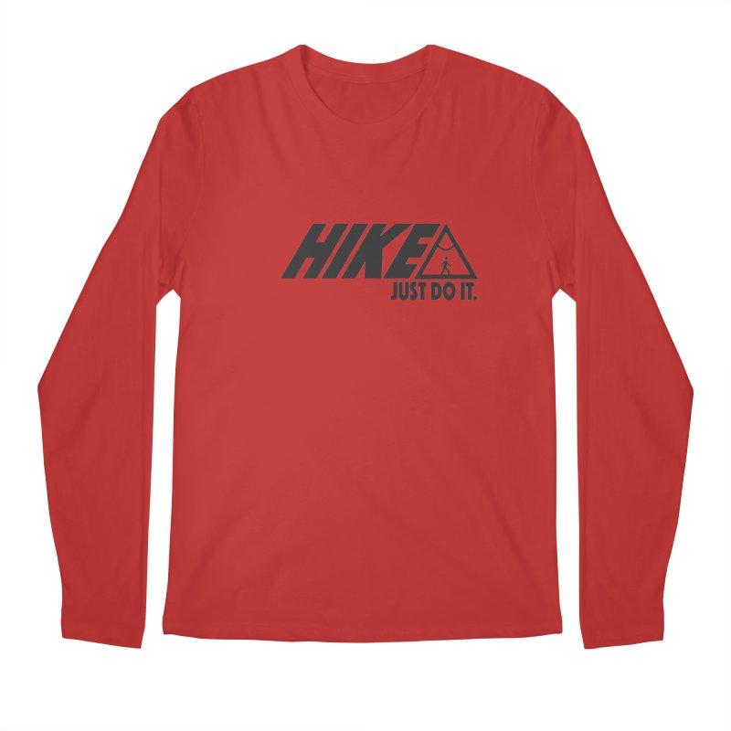 HIKE. JUST DO IT. Men's Regular Longsleeve T-Shirt by CYCLOPS PIRATE Artist Shop