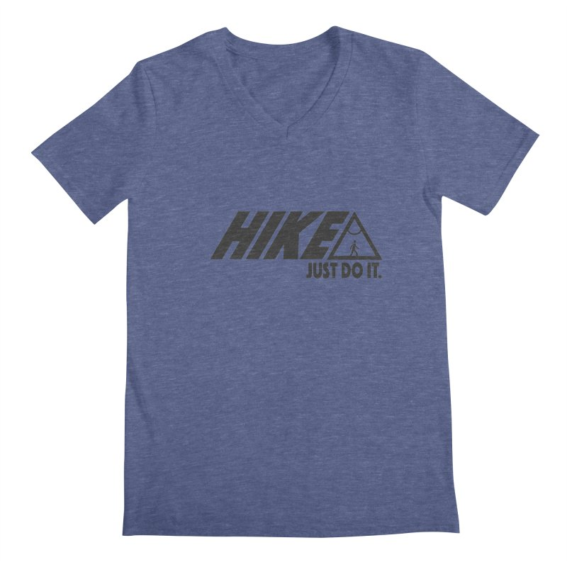 HIKE. JUST DO IT. Men's V-Neck by CYCLOPS PIRATE Artist Shop