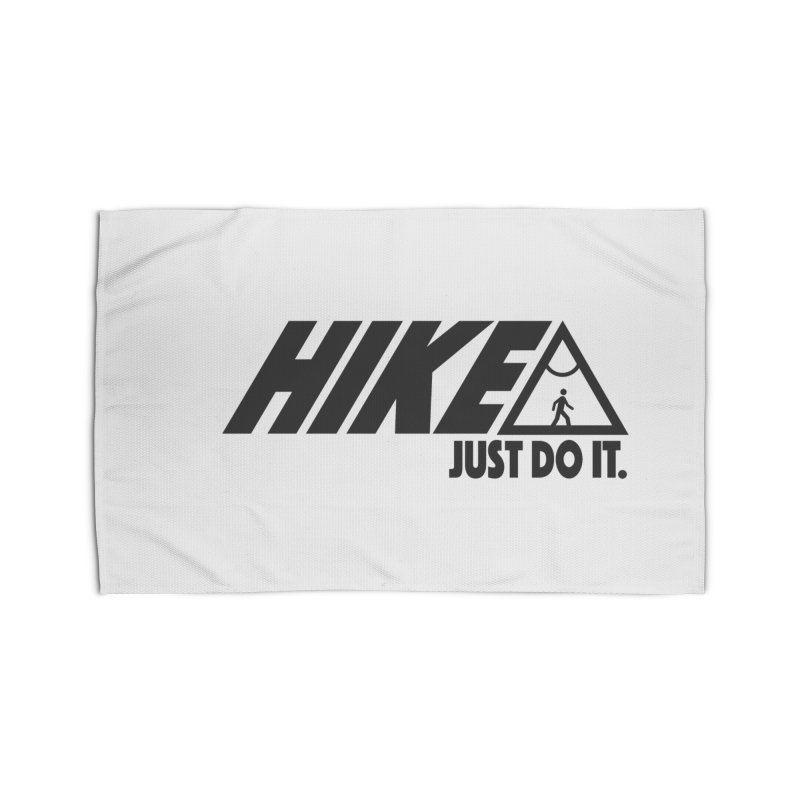 HIKE. JUST DO IT. Home Rug by CYCLOPS PIRATE Artist Shop