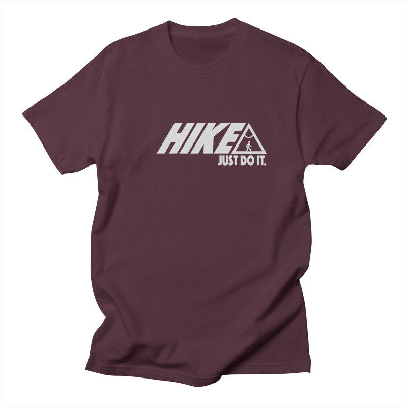 HIKE. JUST DO IT. Men's T-shirt by CYCLOPS PIRATE Artist Shop