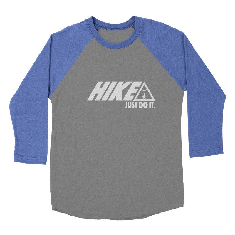 HIKE. JUST DO IT. Men's Baseball Triblend Longsleeve T-Shirt by CYCLOPS PIRATE Artist Shop