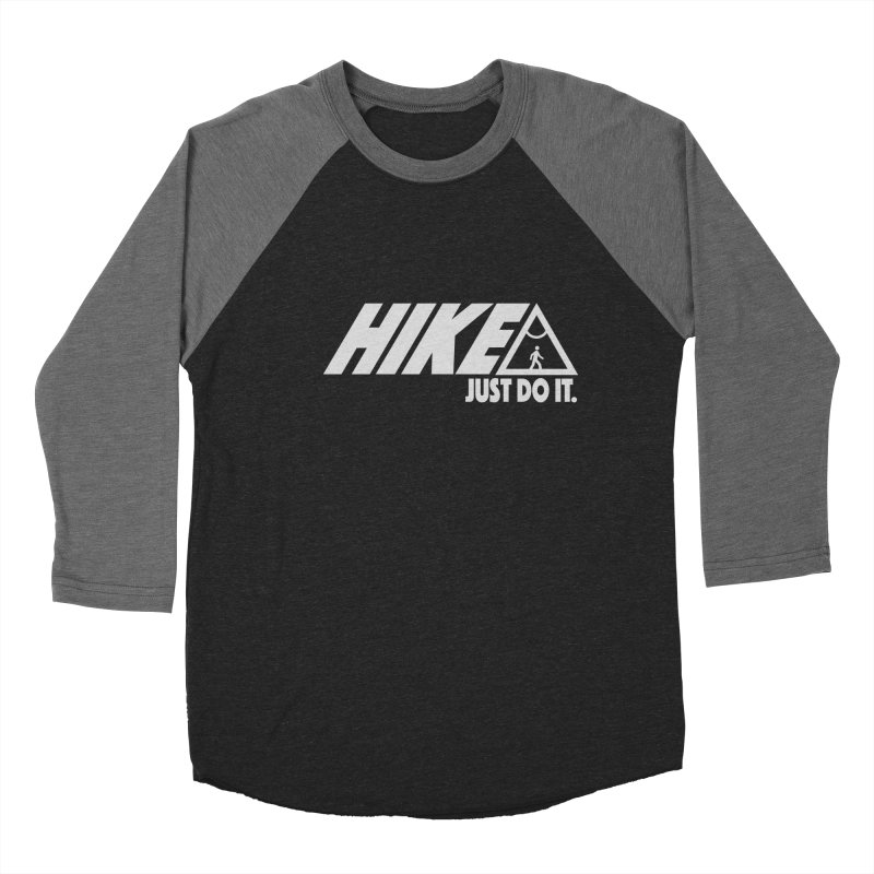 HIKE. JUST DO IT. Men's Baseball Triblend T-Shirt by CYCLOPS PIRATE Artist Shop