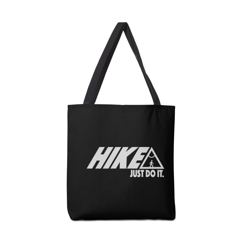 HIKE. JUST DO IT. Accessories Bag by CYCLOPS PIRATE Artist Shop