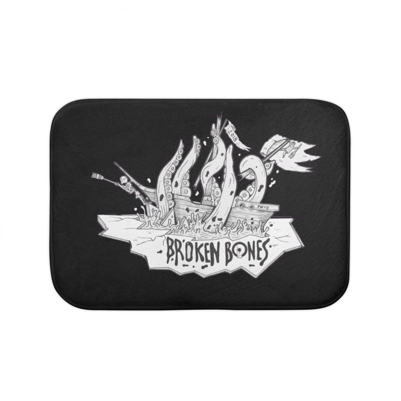 siete Home Bath Mat by CYCLOPS PIRATE Artist Shop