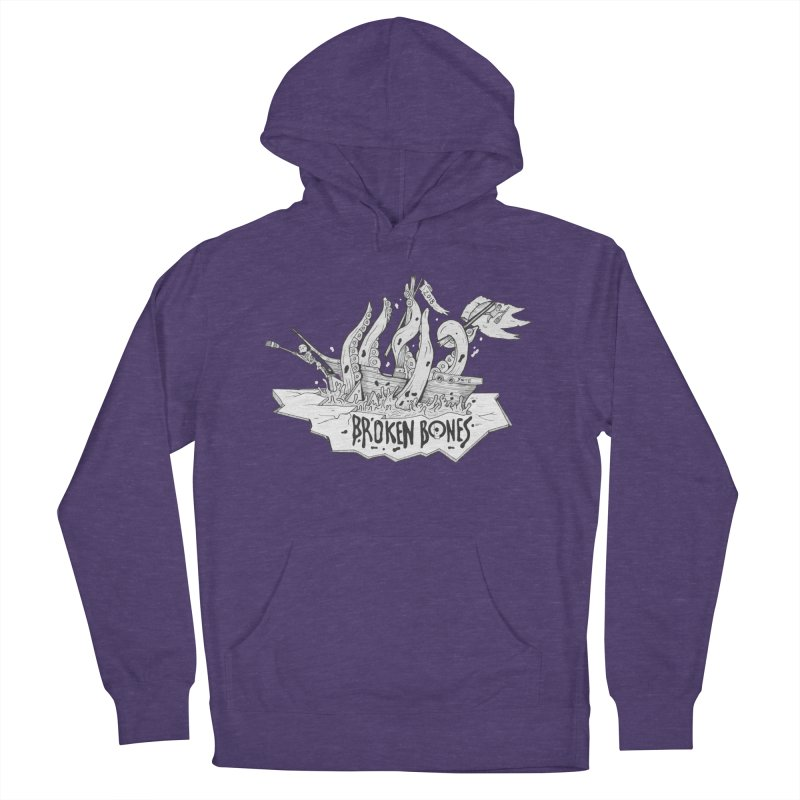 siete Men's French Terry Pullover Hoody by CYCLOPS PIRATE Artist Shop