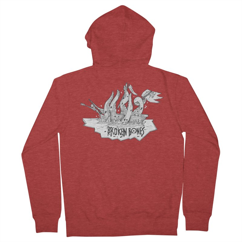 siete Women's French Terry Zip-Up Hoody by CYCLOPS PIRATE Artist Shop