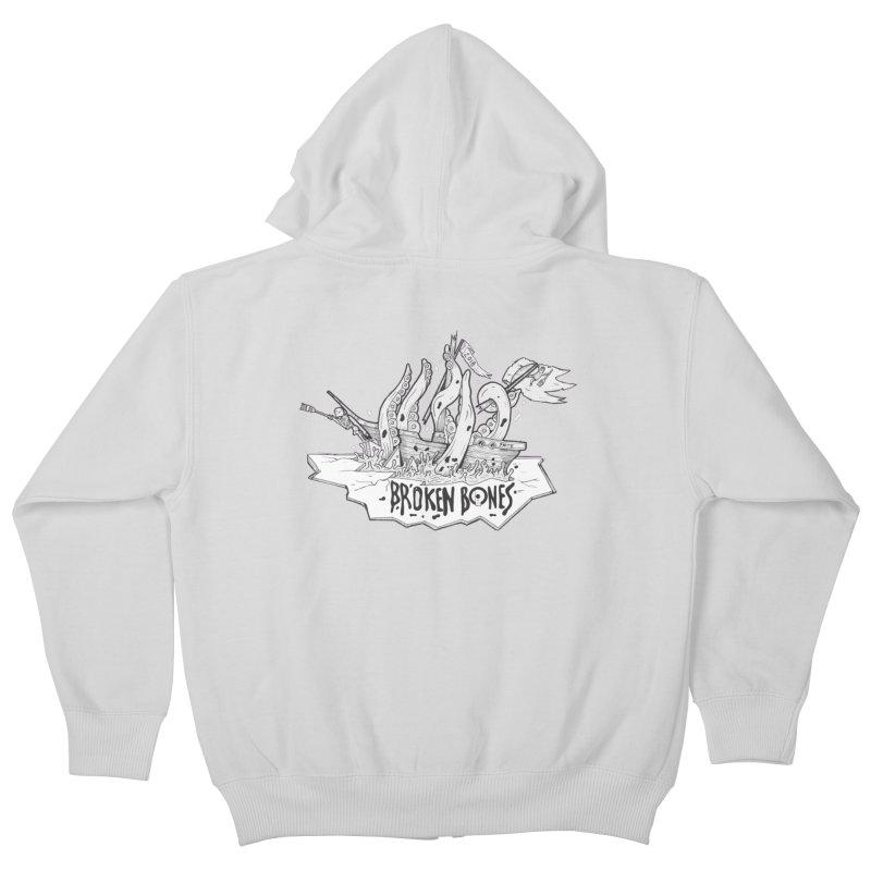 siete Kids Zip-Up Hoody by CYCLOPS PIRATE Artist Shop