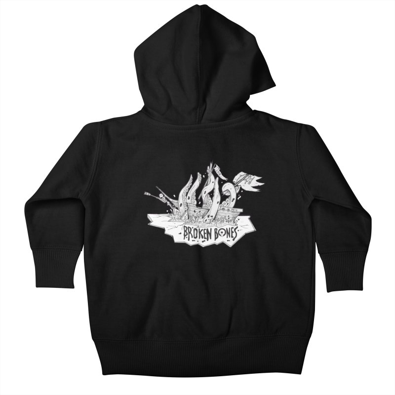 siete Kids Baby Zip-Up Hoody by CYCLOPS PIRATE Artist Shop