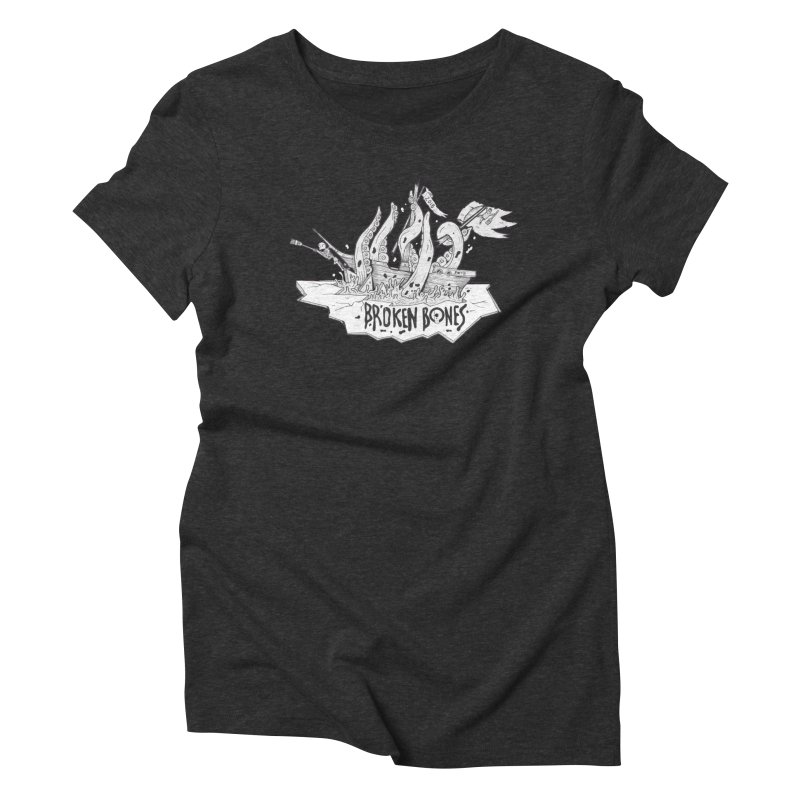 siete Women's Triblend T-Shirt by CYCLOPS PIRATE Artist Shop