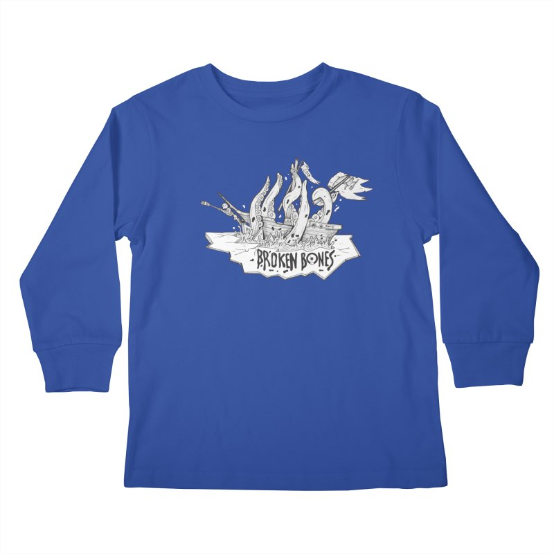 siete Kids Longsleeve T-Shirt by CYCLOPS PIRATE Artist Shop