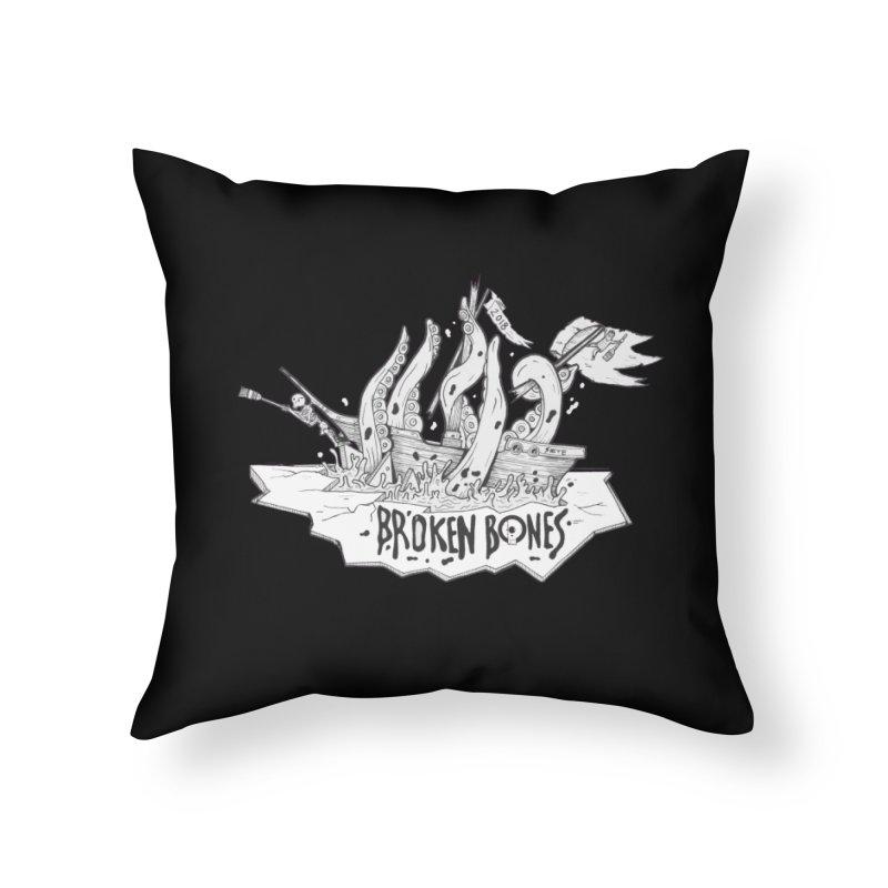 siete Home Throw Pillow by CYCLOPS PIRATE Artist Shop