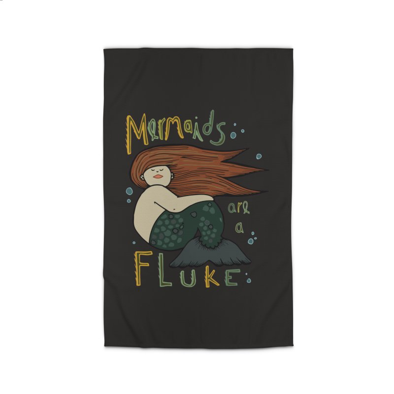 MERMAIDS are a FLUKE Home Rug by CYCLOPS PIRATE Artist Shop
