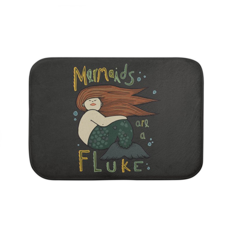 MERMAIDS are a FLUKE Home Bath Mat by CYCLOPS PIRATE Artist Shop