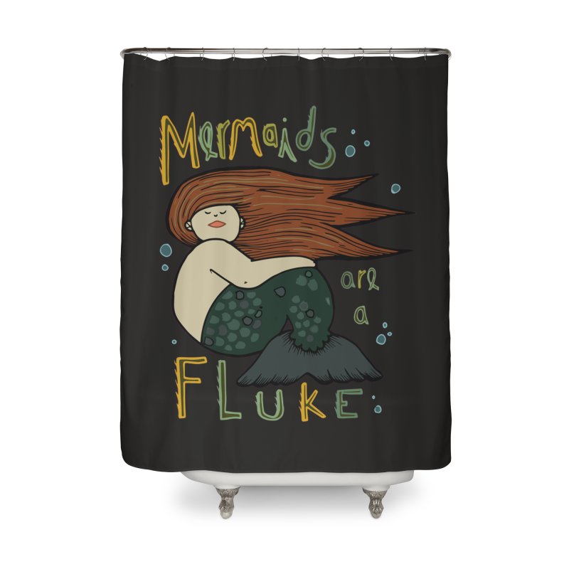 MERMAIDS are a FLUKE Home Shower Curtain by CYCLOPS PIRATE Artist Shop