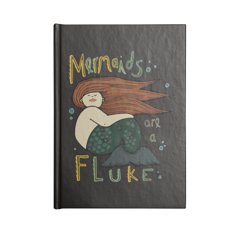 MERMAIDS are a FLUKE Accessories Notebook by CYCLOPS PIRATE Artist Shop