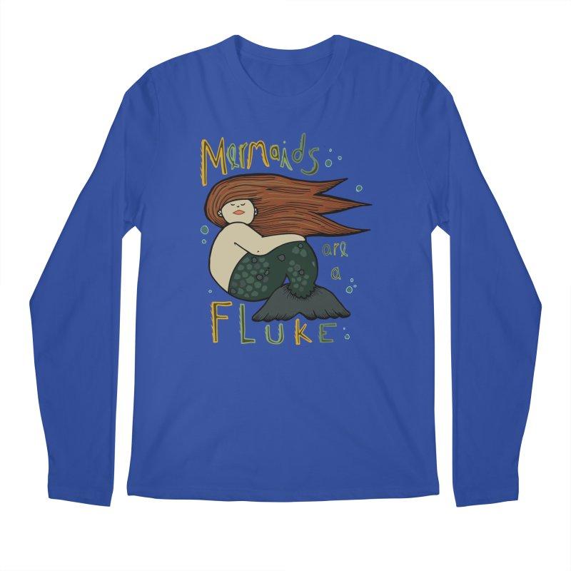 MERMAIDS are a FLUKE Men's Regular Longsleeve T-Shirt by CYCLOPS PIRATE Artist Shop