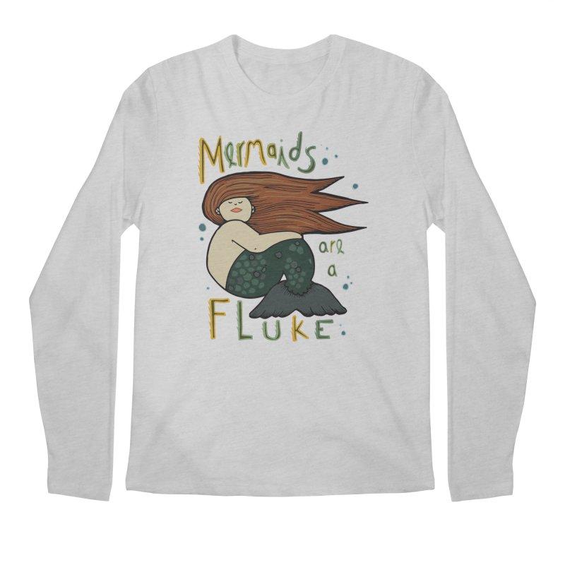 MERMAIDS are a FLUKE Men's Longsleeve T-Shirt by CYCLOPS PIRATE Artist Shop