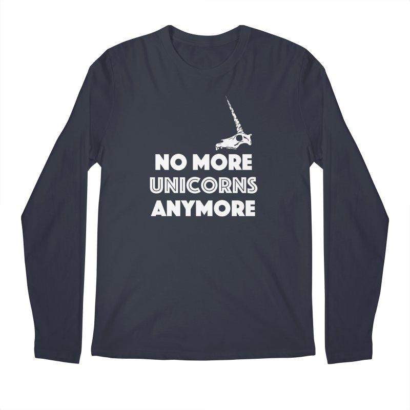 no more unicorns Men's Regular Longsleeve T-Shirt by CYCLOPS PIRATE Artist Shop