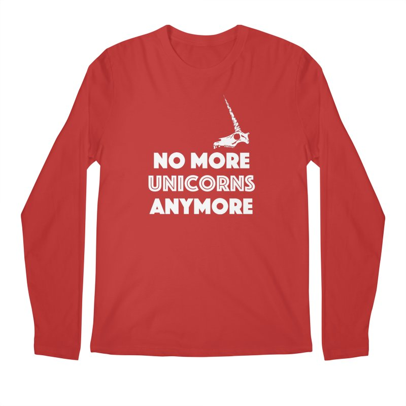 no more unicorns Men's Regular Longsleeve T-Shirt by CYCLOPS PIRATE Artist Shop