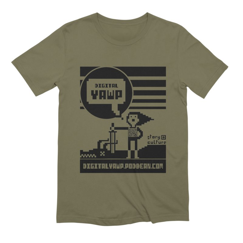 digital yawp Men's Extra Soft T-Shirt by CYCLOPS PIRATE Artist Shop