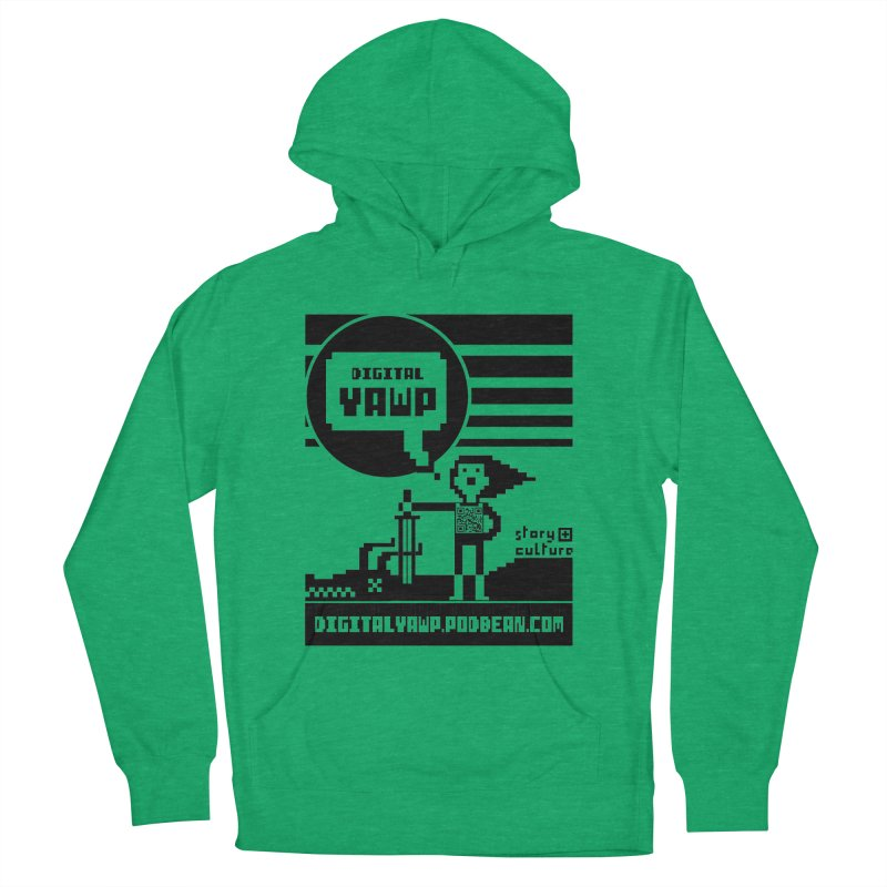 digital yawp Men's French Terry Pullover Hoody by CYCLOPS PIRATE Artist Shop