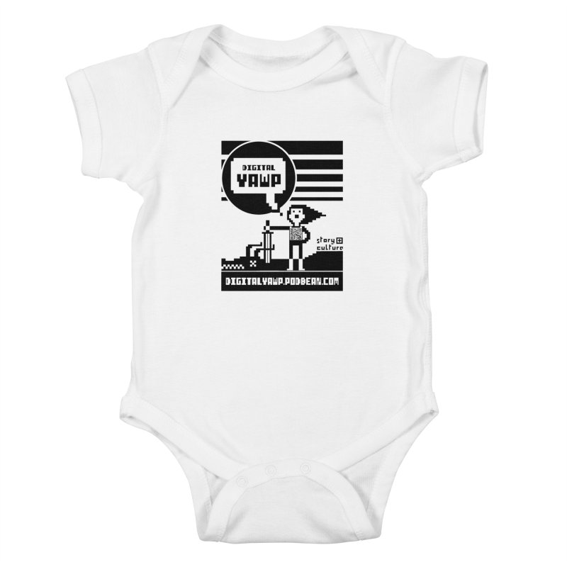 digital yawp Kids Baby Bodysuit by CYCLOPS PIRATE Artist Shop