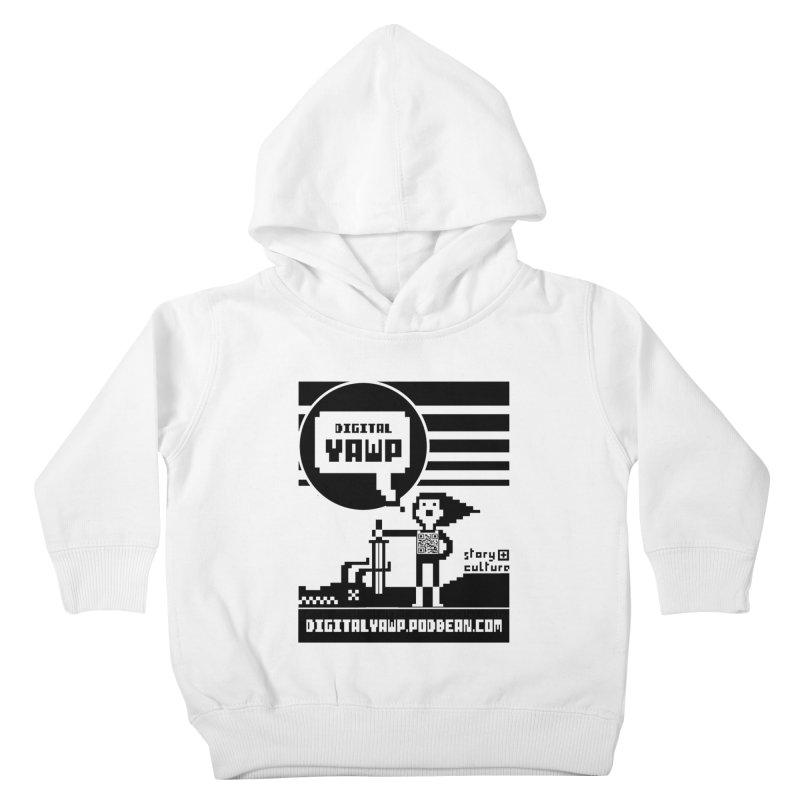 digital yawp Kids Toddler Pullover Hoody by CYCLOPS PIRATE Artist Shop