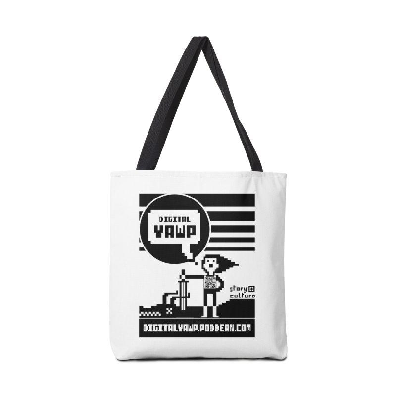 digital yawp Accessories Bag by CYCLOPS PIRATE Artist Shop