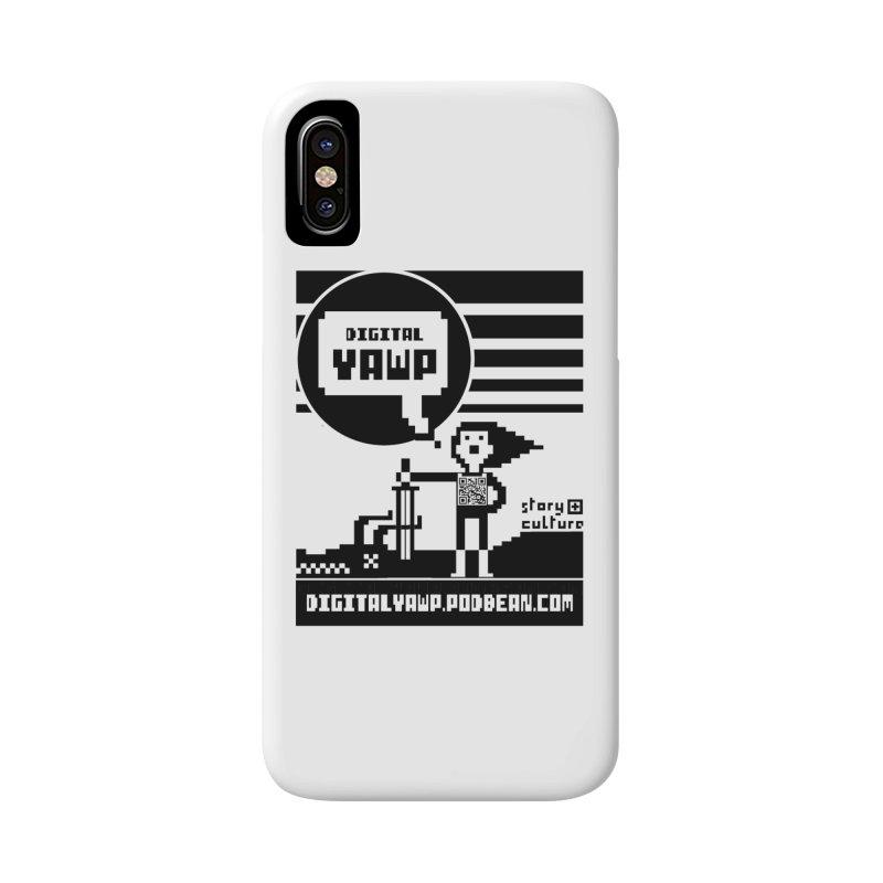 digital yawp Accessories Phone Case by CYCLOPS PIRATE Artist Shop