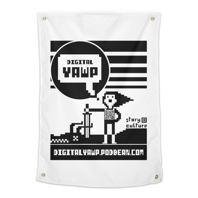 digital yawp Home Tapestry by CYCLOPS PIRATE Artist Shop