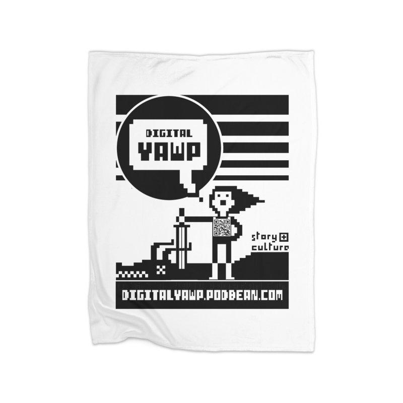 digital yawp Home Blanket by CYCLOPS PIRATE Artist Shop