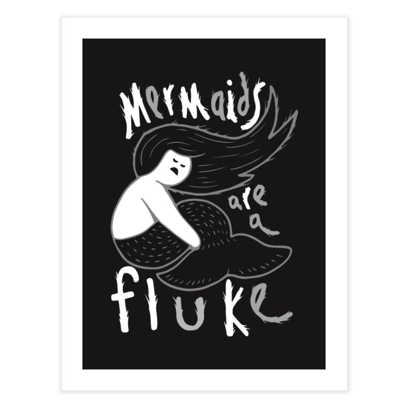 mermaid Home Fine Art Print by CYCLOPS PIRATE Artist Shop