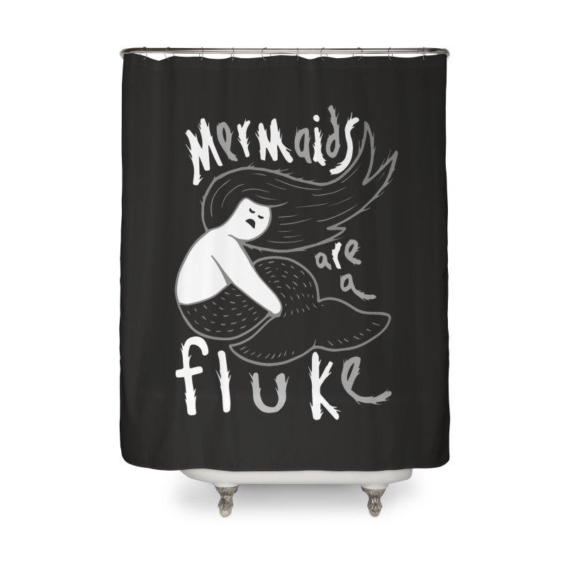 mermaid Home Shower Curtain by CYCLOPS PIRATE Artist Shop