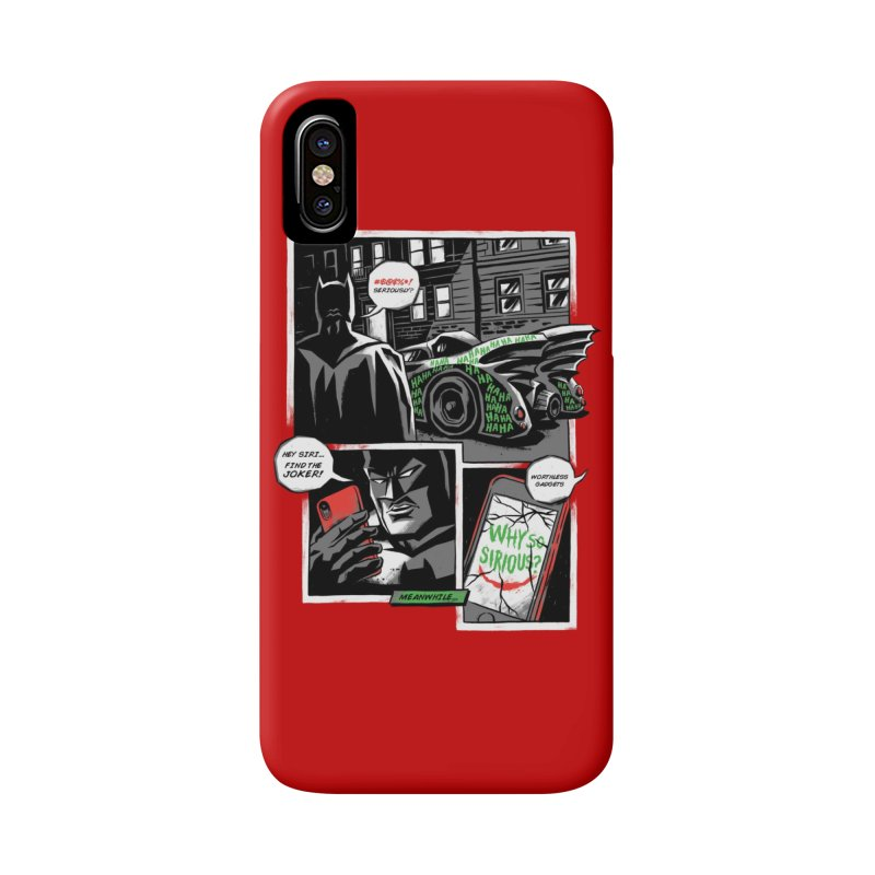 Siriously? Accessories Phone Case by CPdesign's Artist Shop