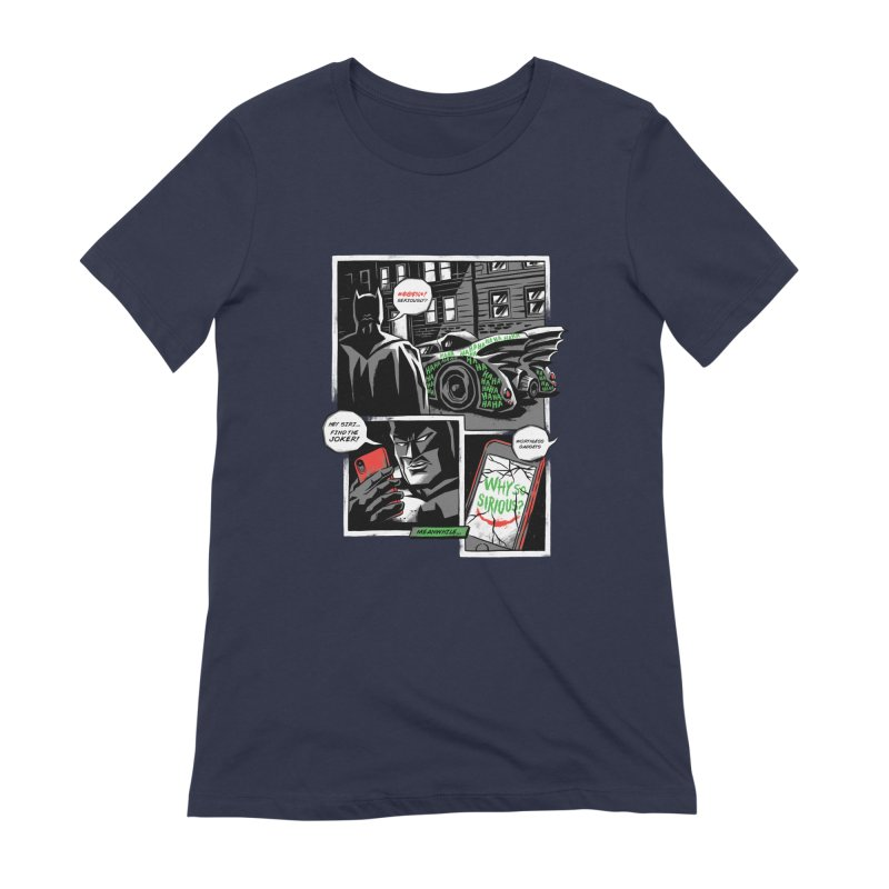 Siriously? Women's Extra Soft T-Shirt by CPdesign's Artist Shop