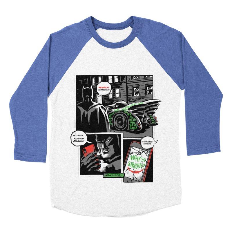 Siriously? Men's Baseball Triblend Longsleeve T-Shirt by CPdesign's Artist Shop