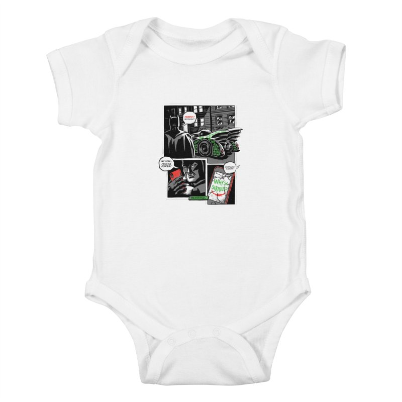 Siriously? Kids Baby Bodysuit by CPdesign's Artist Shop