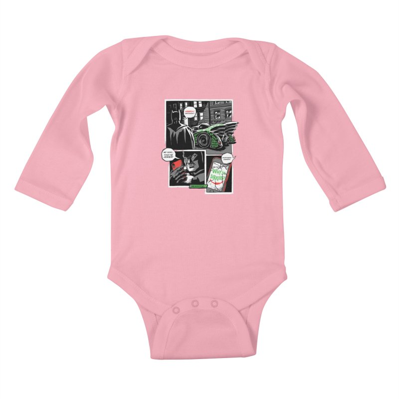 Siriously? Kids Baby Longsleeve Bodysuit by CPdesign's Artist Shop