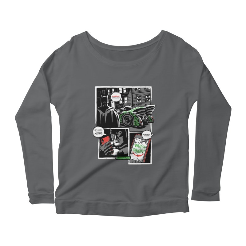 Siriously? Women's Scoop Neck Longsleeve T-Shirt by CPdesign's Artist Shop