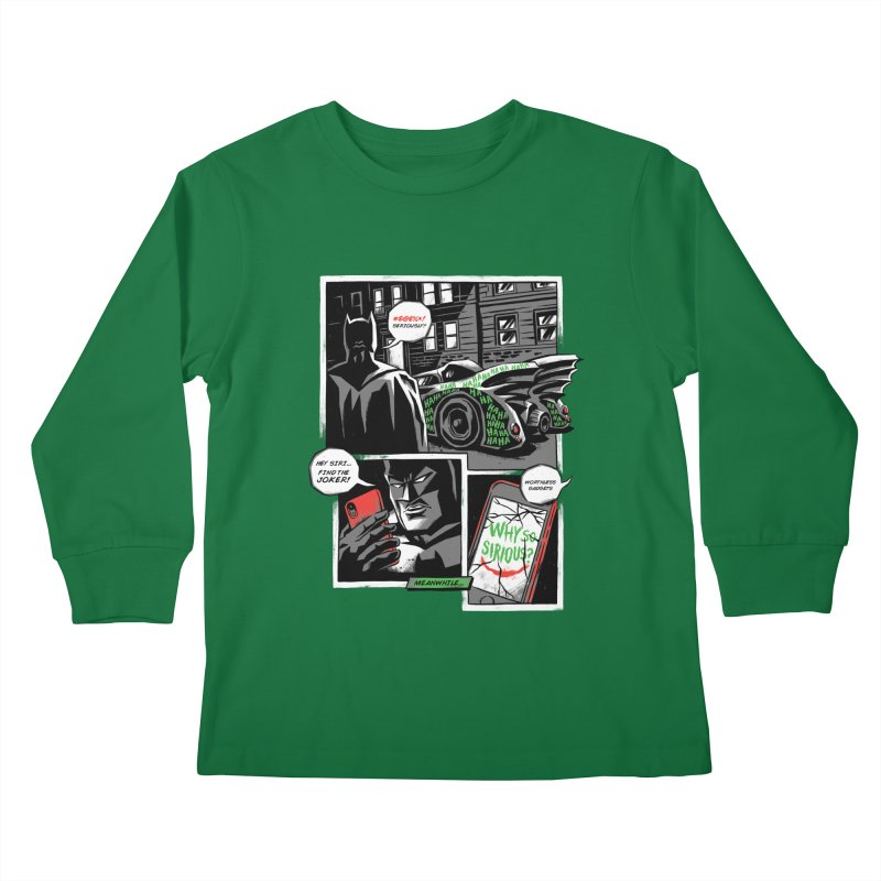 Siriously? Kids Longsleeve T-Shirt by CPdesign's Artist Shop