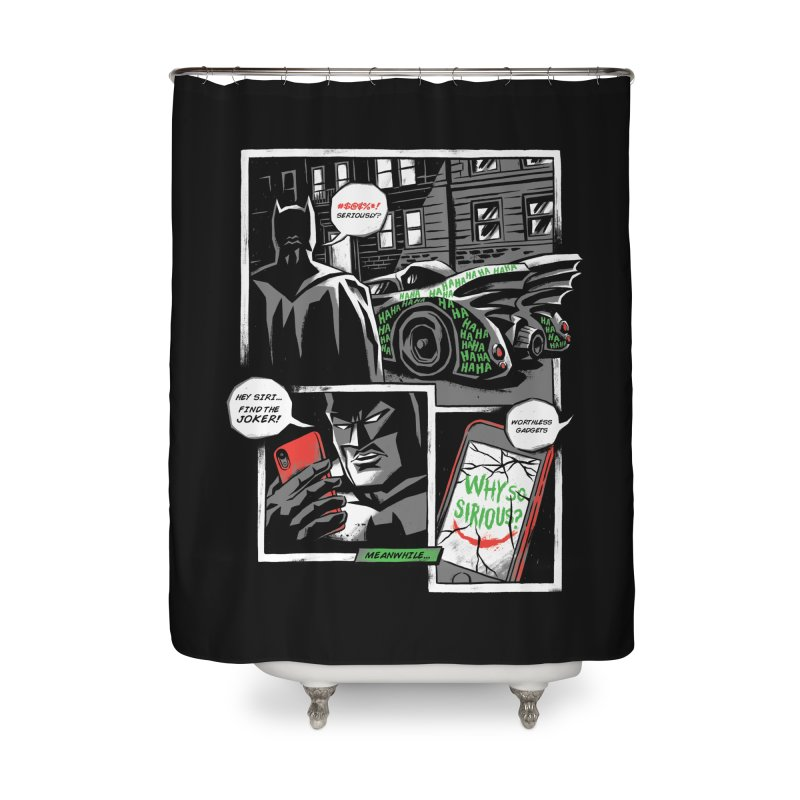Siriously? Home Shower Curtain by CPdesign's Artist Shop