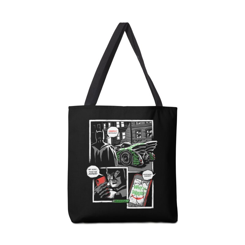 Siriously? Accessories Tote Bag Bag by CPdesign's Artist Shop