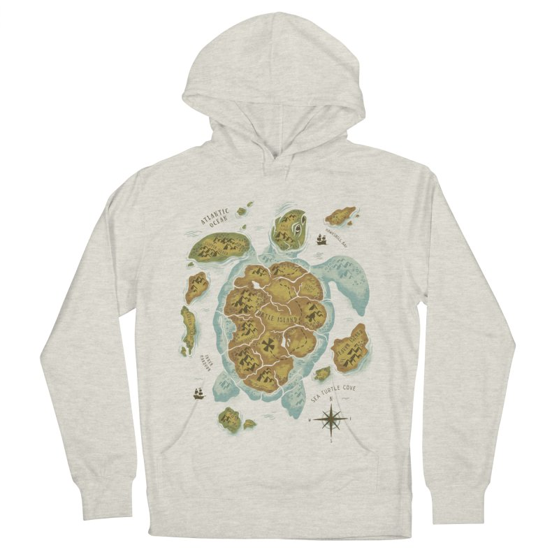 Turtle Island Men's Pullover Hoody by CPdesign's Artist Shop