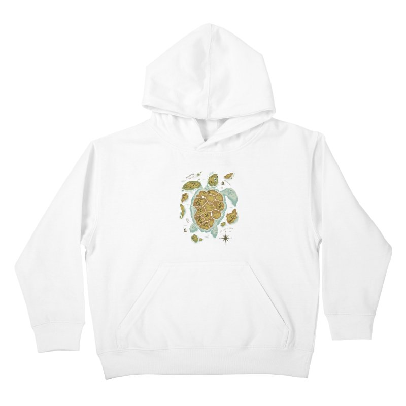 Turtle Island Kids Pullover Hoody by CPdesign's Artist Shop