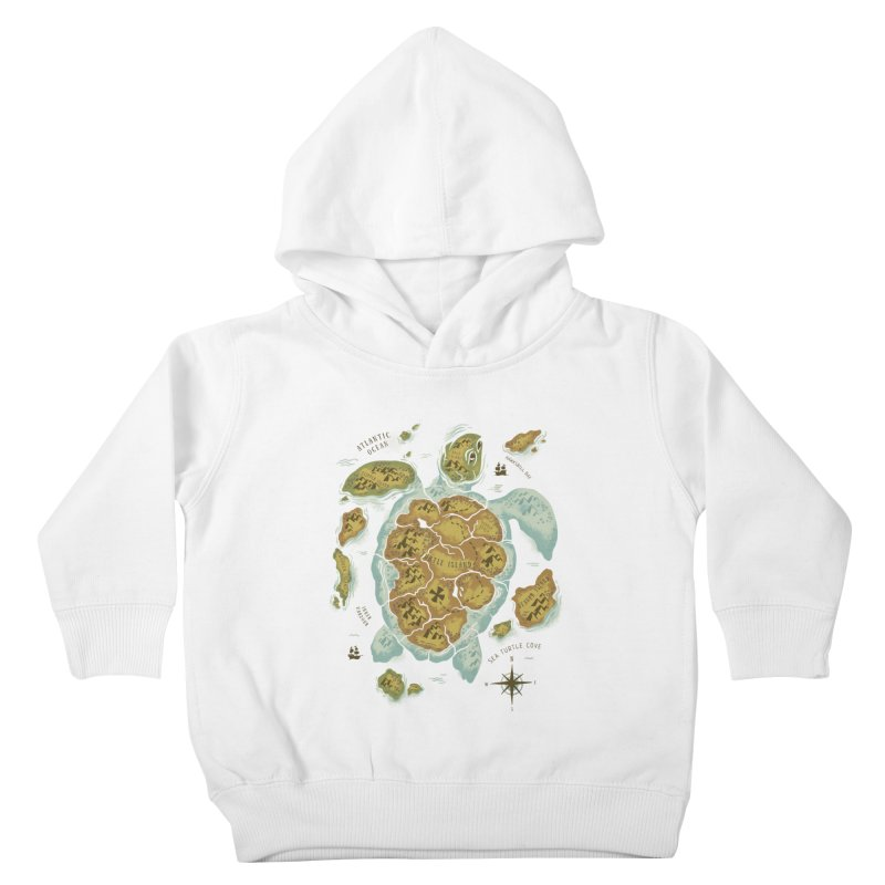 Turtle Island Kids Toddler Pullover Hoody by CPdesign's Artist Shop