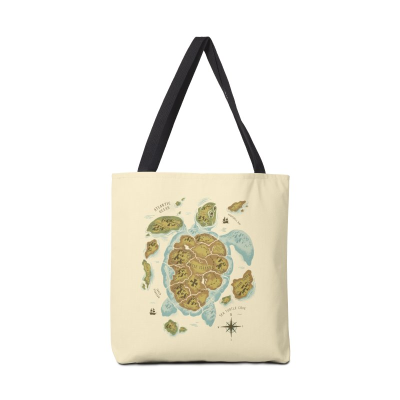 Turtle Island Accessories Bag by CPdesign's Artist Shop
