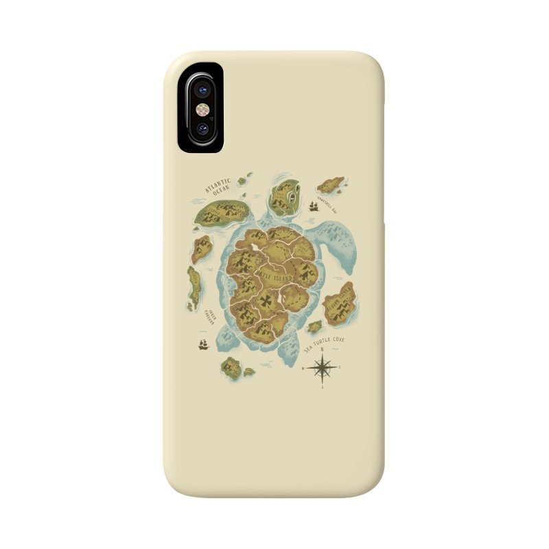 Turtle Island Accessories Phone Case by CPdesign's Artist Shop