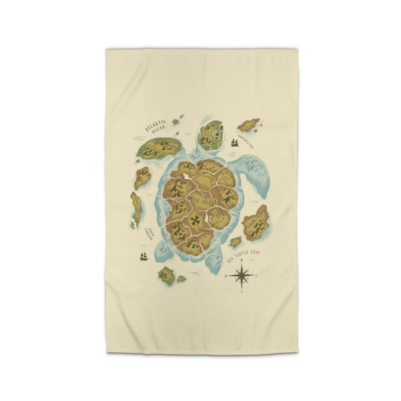 Turtle Island Home Rug by CPdesign's Artist Shop