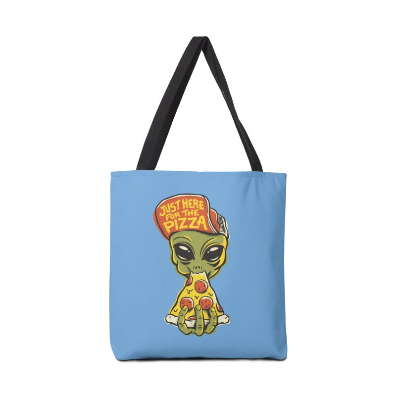 Here For Pizza Accessories Tote Bag Bag by CPdesign's Artist Shop